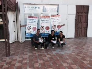 distribution flyers Maroc